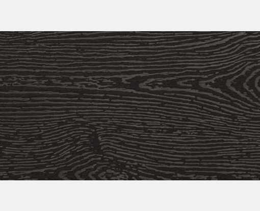 #3 Mini Flat Card (2 x 3 1/2) Brasilia Black Woodgrain