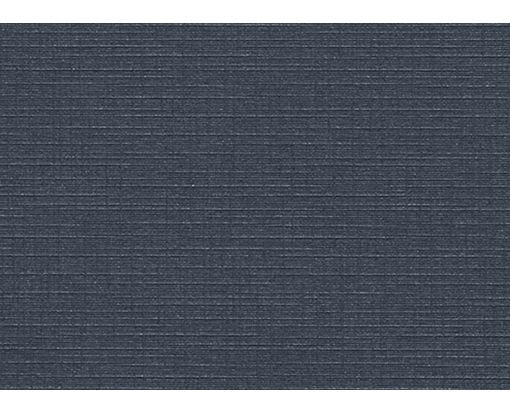 #17 Mini Flat Card (2 9/16 x 3 9/16) Nautical Blue Linen