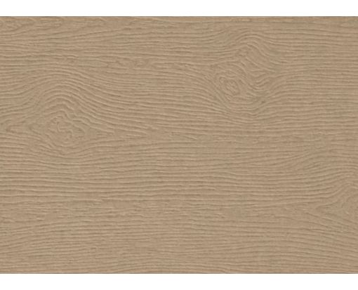 #17 Mini Flat Card Oak Woodgrain