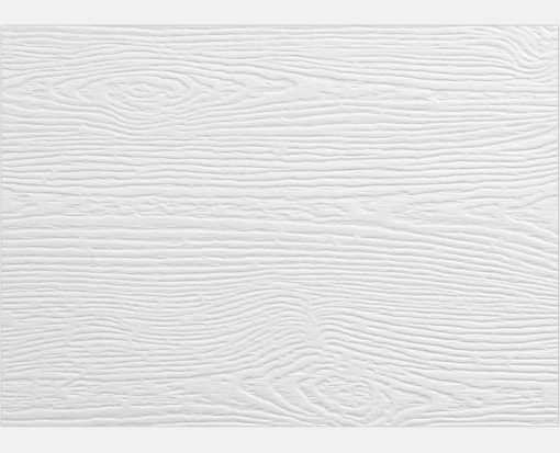 #17 Mini Flat Card White Birch Woodgrain
