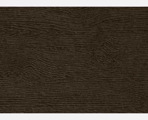 #17 Mini Flat Card Teak Woodgrain