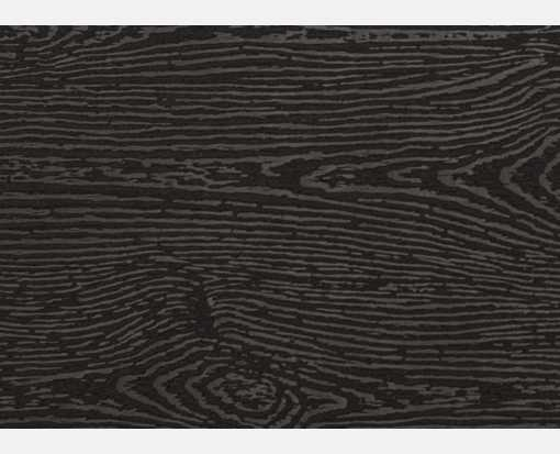 #17 Mini Flat Card (2 9/16 x 3 9/16) Brasilia Black Woodgrain