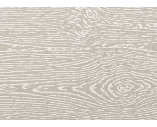 #17 Mini Flat Card (2 9/16 x 3 9/16) Brasilia Gray Woodgrain