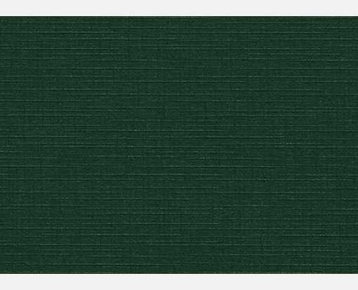 #17 Mini Flat Card (2 9/16 x 3 9/16) Green Linen