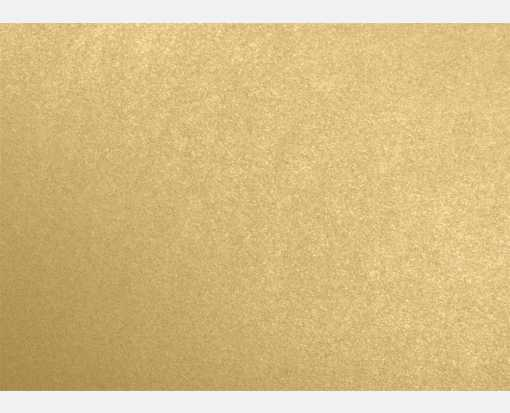 #17 Mini Flat Card (2 9/16 x 3 9/16) Blonde Metallic