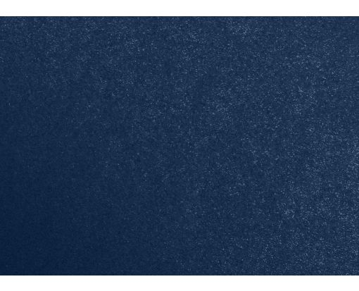 #17 Mini Flat Card (2 9/16 x 3 9/16) Lapis Metallic - Stardream®