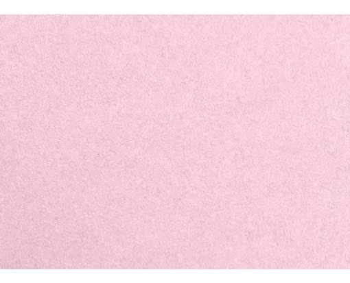 #17 Mini Flat Card (2 9/16 x 3 9/16) Rose Quartz Metallic