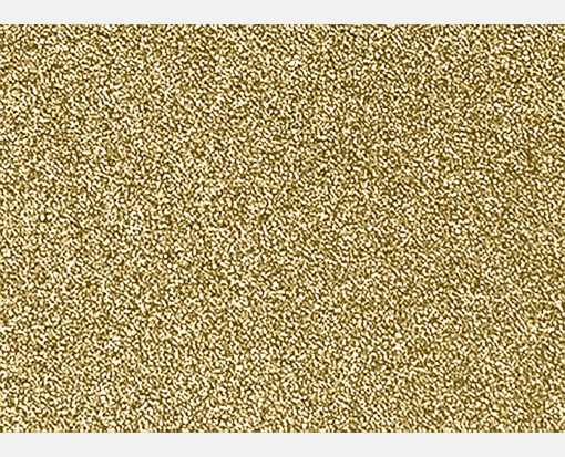 #17 Mini Flat Card (2 9/16 x 3 9/16) Gold Sparkle