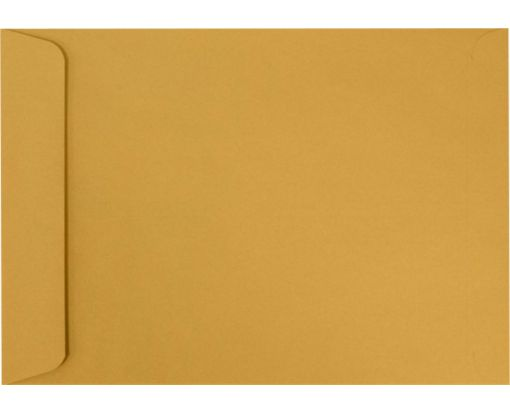 7 1/2 x 10 1/2 Open End Envelopes 28lb. Brown Kraft