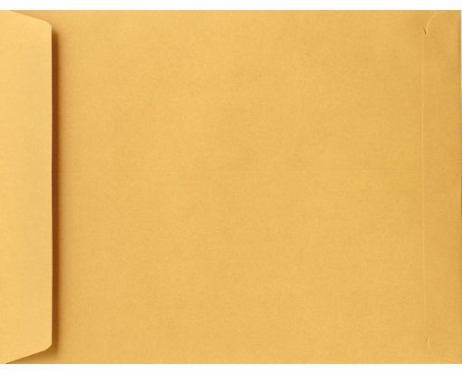 9 x 12 Open End Envelopes 28lb. Brown Kraft