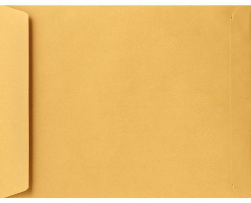 9 1/2 x 12 1/2 Open End Envelopes 28lb. Brown Kraft