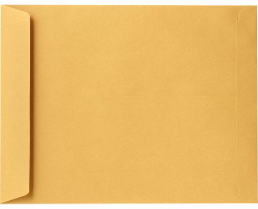10 x 15 Open End Envelopes 28lb. Brown Kraft