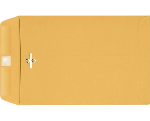 9 x 12 Clasp Envelopes 28lb. Brown Kraft
