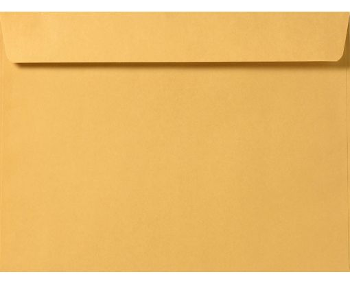 7 1/2 x 10 1/2 Booklet Envelopes 28lb. Brown Kraft