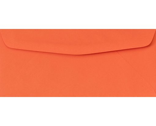 #10 Regular Envelopes (4 1/8 x 9 1/2) Bright Orange