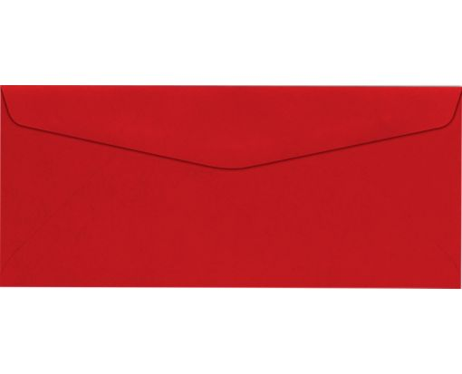 #10 Regular Envelopes (4 1/8 x 9 1/2) Holiday Red