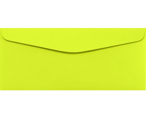 #10 Regular Envelopes (4 1/8 x 9 1/2) Electric Green