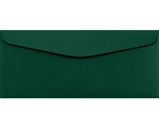 #10 Regular Envelopes (4 1/8 x 9 1/2) Green Linen