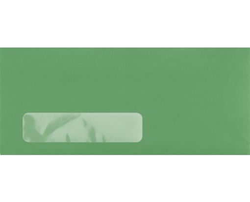 #10 Window Envelopes (4 1/8 x 9 1/2) Bright Green