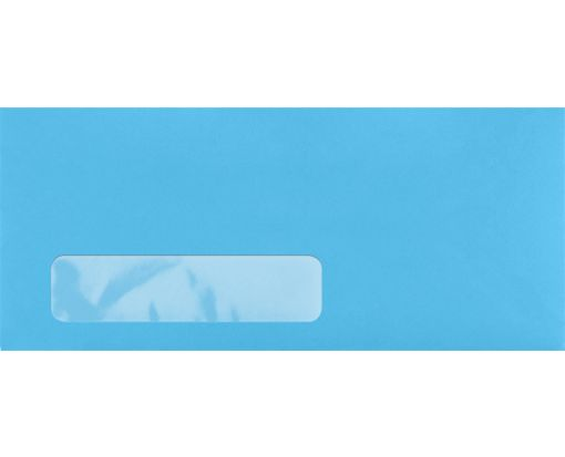 #10 Window Envelopes (4 1/8 x 9 1/2) Bright Blue