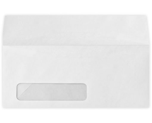 #10 Window Envelopes (4 1/8 x 9 1/2) 80lb. White, Inkjet