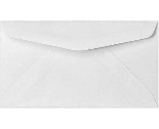 #7 Regular Envelopes (3 3/4 x 6 3/4) 24lb. Bright White
