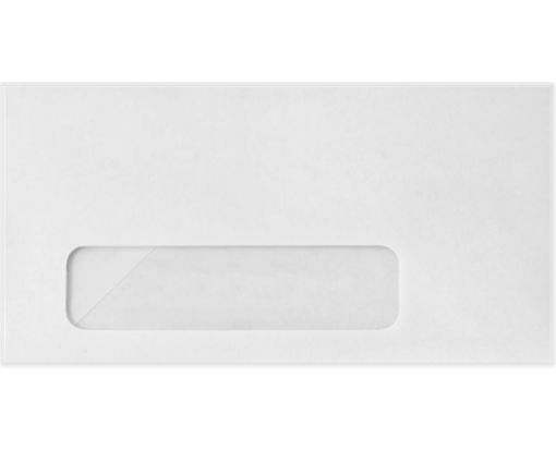 #7 3/4 Window Envelopes (3 7/8 x 7 1/2) 24lb. Bright White