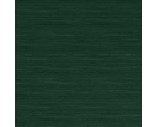 4 3/4 x 4 3/4 Square Flat Card Green Linen