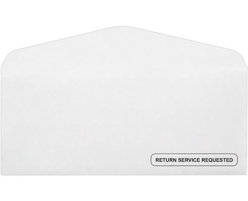 #10 Regular Envelopes (4 1/8 x 9 1/2) - Return Service Requested 24lb. Bright White - Return