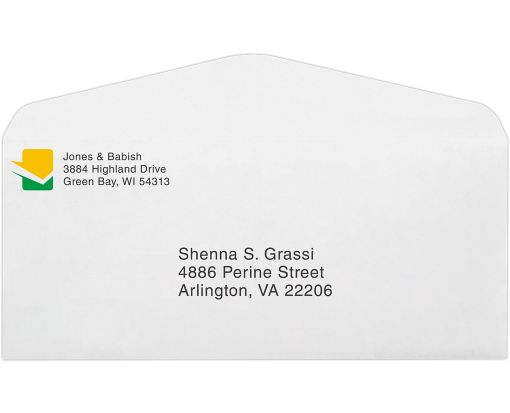 #10 Regular Envelopes (4 1/8 x 9 1/2) 24lb. Bright White