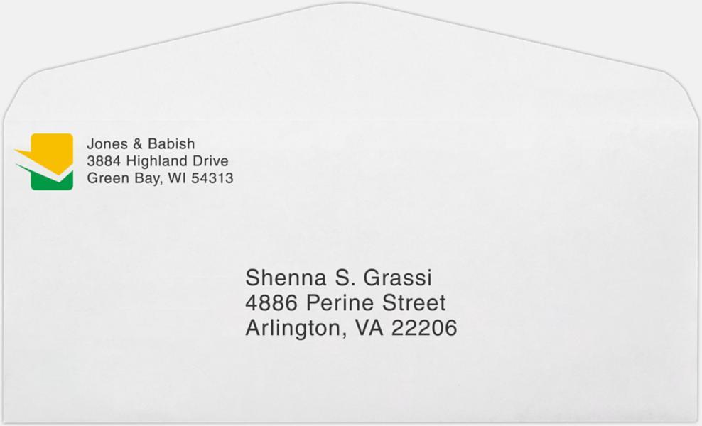 10 regular envelopes 4 1 8 x 9 1 2 24lb 24lb bright white