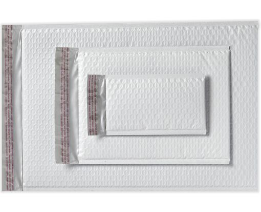 4 x 7 1/4 AirJacket Mailers White Bubble