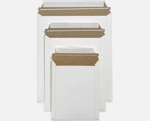 6 x 8 Paperboard Mailers White Paperboard