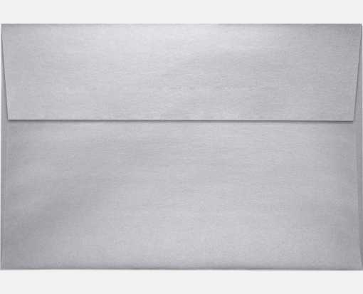 A10 Invitation Envelopes (6 x 9 1/2) Silver Metallic