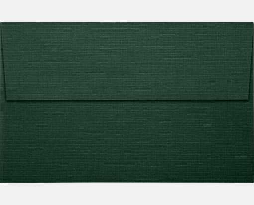 A10 Invitation Envelopes (6 x 9 1/2) Green Linen