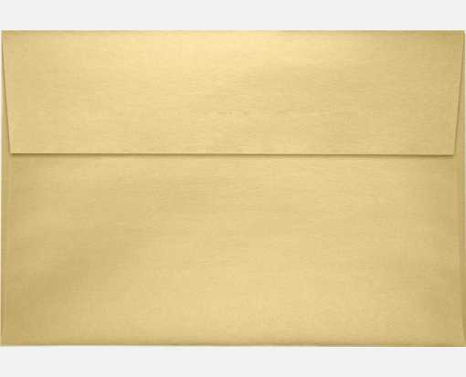A10 Invitation Envelopes (6 x 9 1/2) Blonde Metallic