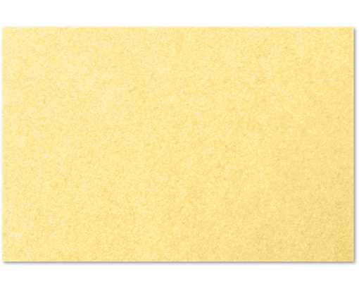 4 x 6 Flat Card Gold Metallic