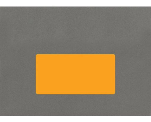4 x 2 Rectangle Labels, 10 Per Sheet Fluorescent Orange