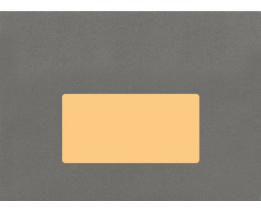 4 x 2 Rectangle Labels, 10 Per Sheet Pastel Orange