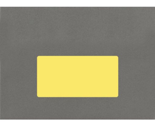 4 x 2 Rectangle Labels, 10 Per Sheet Pastel Yellow