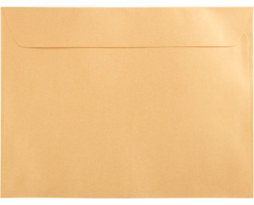 6 x 9 Booklet Envelopes Gold Metallic