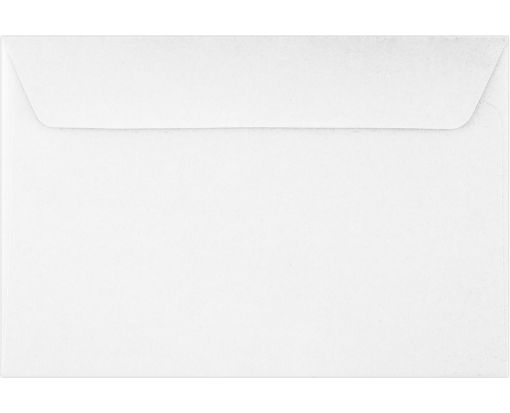 6 x 9 Booklet Envelopes 80lb. White, Inkjet