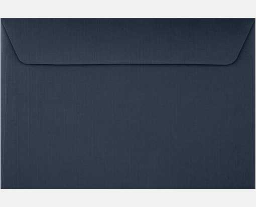 6 x 9 Booklet Envelopes Nautical Blue Linen