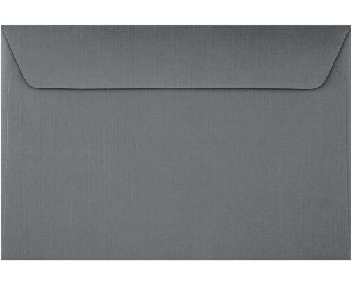 6 x 9 Booklet Envelopes Sterling Gray Linen