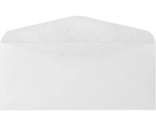 #9 Regular Envelopes (3 7/8 x 8 7/8) White - 100% Recycled