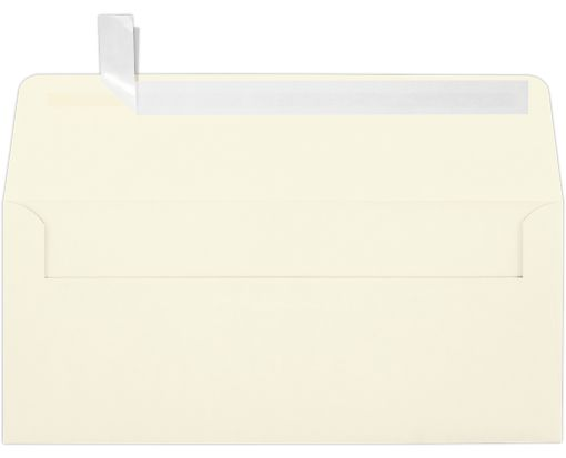 #10 Square Flap Envelopes (4 1/8 x 9 1/2) Natural - 100% Recycled