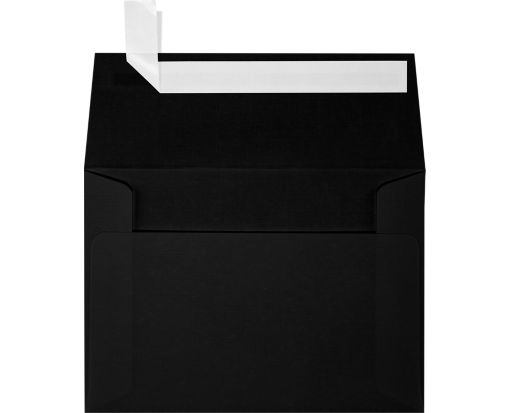 A1 Invitation Envelopes (3 5/8 x 5 1/8) Black Linen