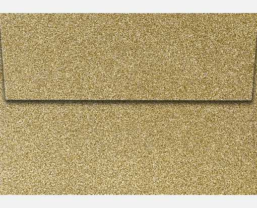 A1 Invitation Envelopes (3 5/8 x 5 1/8) Gold Sparkle
