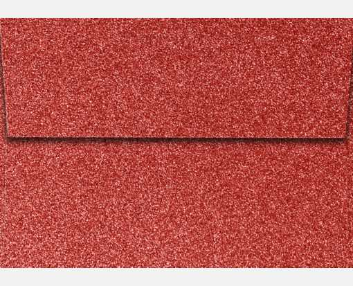 A1 Invitation Envelopes (3 5/8 x 5 1/8) Holiday Red Sparkle