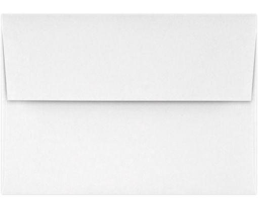 A1 Invitation Envelopes (3 5/8 x 5 1/8) Bright White - 100% Cotton